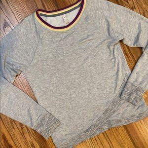 ✳️ ATHLETA Girl Softest Gray Crew Sweatshirt